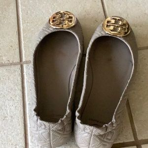 Tory Burch Quilted Flats